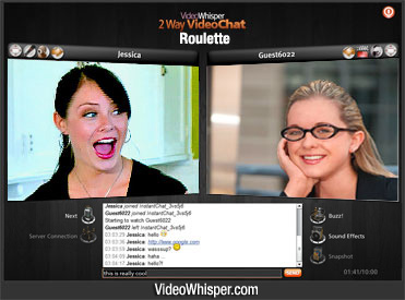 2 Way Video Chat Roulette Clone Script