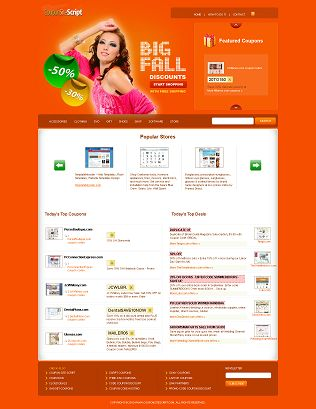 Coupon Site Script like Retailmenot
